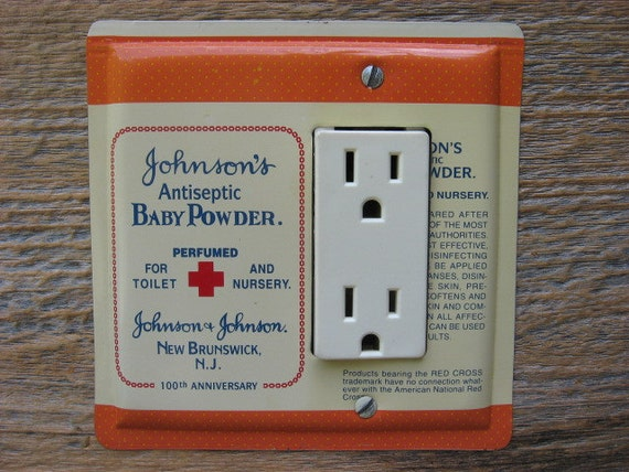 Bathroom Wall Decor GFCI Rocker Switch Plate Outlet by ...