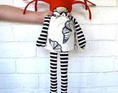 Minli- Butterfly- Large Flip Doll