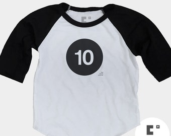 10th Birthday Shirt - Raglan
