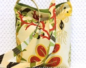 Crossbody Bag Purse - Sea Life Hobo Bag Purse - Handmade Shoulder Bag - Colors of Tuscany Ocean Life Crossbody Handbag - Ladies Resort Wear