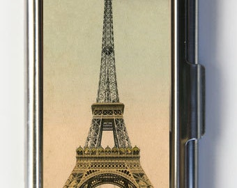 Eiffel Tower Business Card Holder Card Case victorian Paris