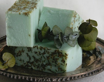 Eucalyptus and Thyme Handmade Artisan Soap