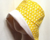Rubber Ducky Sunhat with SPF50+ Lining Fabric and Velcro Straps 7 SIZES!