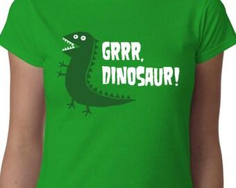 Grrr Dinosaur! ladies t-shirt PEPPA PIG