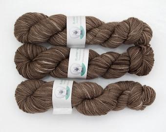 Clearance - Superwash Merino Wool Sock Yarn in Cocoa by Blarney Yarn