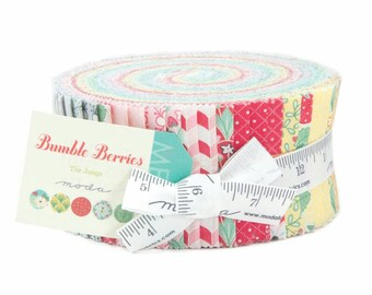 Bumble Berries Jelly Roll by the Jungs -Moda Fabrics