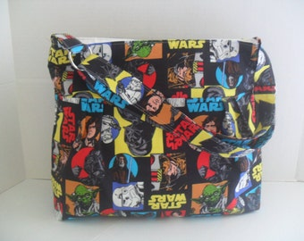 Star Wars Diaper Bag - Diaper Bag - Star Wars Bag - Messenger Bag - Crossbody - Star Wars