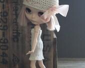 Blythe Crochet Slip Dress with Frilly Hem Choose Midi or Mini - Ready to Ship