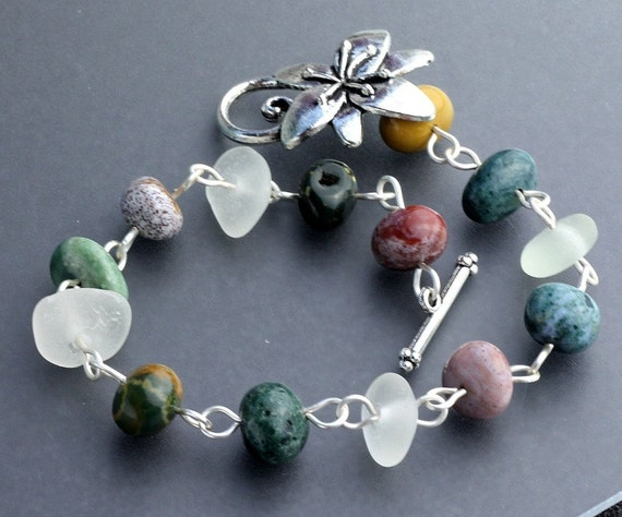 and sea glass jewelry sea glass by borealisseaglass
