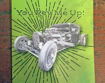 You Rev Me Up! - Card for Men