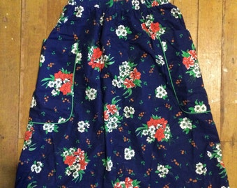 Adorable 1970's womens boho/hippie skirt size M/L