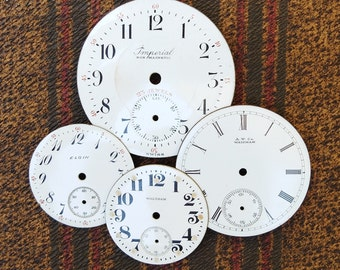 Vintage Watch Faces Porcelain Dial Supply