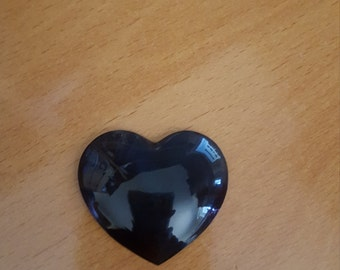 Rainbow Obsidian Heart Shaped Cabochon Jewelry Wire Wrapping Supply