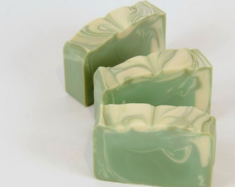 Sugared Spruce Soap - Handmade Cold Process Soap - Gift For Him - Husband Gift - Stocking Stuffer