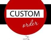 Custom Order Deposit Listing for Melissa
