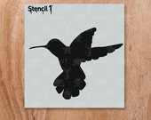 "Bird Silhouette 4 Stencil - Reusable Craft & DIY Stencils - S1_01_BS01_S4 -Small-(5.75""x6"")- By Stencil1"