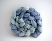Frost Trails Hand-Dyed Organic Polwarth/Silk Top