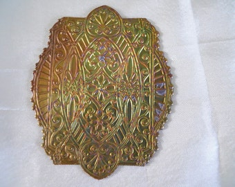 Vintage Victorian Brass Stamping