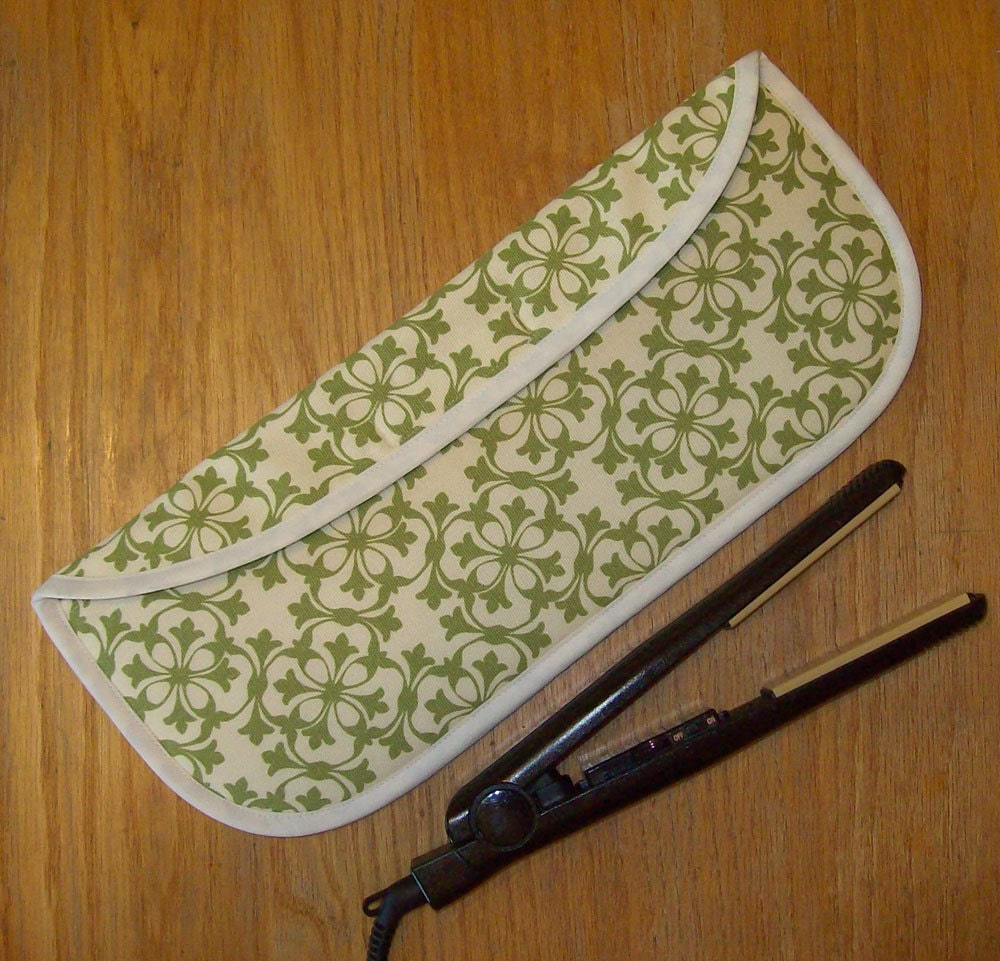 Curling Iron Case Flat Iron Cover Insulated Heat