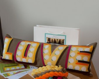 Love Cross Stitch kit - large