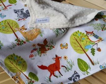 Security Blanket / Lovey Blanket / Baby Blanket / Security Baby Blanket