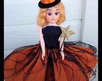 Vintage Halloween Decoration Cute Dress Me  Doll Halloween Decoration for Halloween Party or Halloween Ornament TVAT