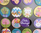Easter Spring Countdown Calendar 24 Count Muffin Tin