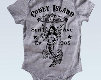 Coney Island Luna Park Onesie