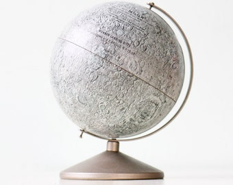 "Vintage Moon Globe Bank -  6"" Diameter Moon by Replogle"