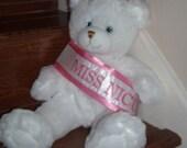 Miss Nicu sash