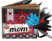 Mom Scrapbook - Mother Paper Bag Photo Album