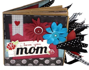 Mom Scrapbook - Mother Paper Bag Photo Album