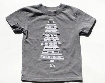 Christmas Tree... Arrow Print ...Fabric Iron On Applique