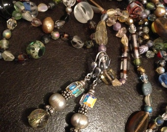 Brides Earrings, Handcrafted Earrings, Wedding Jewelry, Crystal Earrings, Pearl Earrings