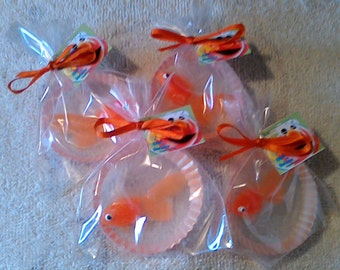 Gold Fish soaps  Dorothy Soaps  party favors