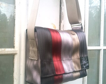 Seatbelt Bag - Vegan Purse - Recycled Bag