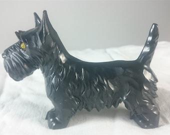 Vintage Art Deco Scottish Terrier Scottie Dog Figurine 1930's