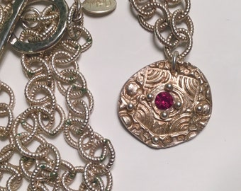 One of a kind Shield Maiden Necklace