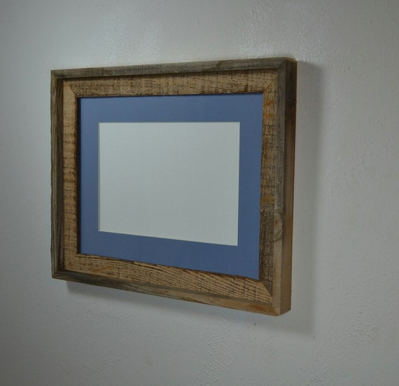 12x16 Frame From Reclaimed Wood With Beautiful Patina And 8x12