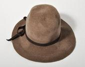 Vintage Floppy Brown Hat