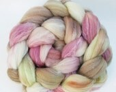 "Superwash Merino/ Merino/ Silk Spinning Fiber 40/40/20, 4 oz, ""Damsel"""