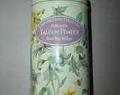 Vintage Talc Tin Country Diary Collection