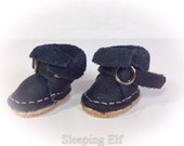 gorgeous BLACK MIDDIE blythe boots