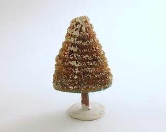 Vintage Christmas Decoration Bottle Brush Tree Christmas Village