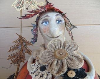 Gourdious Fairy Ms. Autumn Gourd