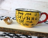 CHURRO Mug - Fired Cerami...