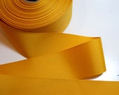 RESERVED FOR MONKIESTUFF Gold Ribbon, Offray Gold Grosgrain Ribbon 2 1/4 inches wide