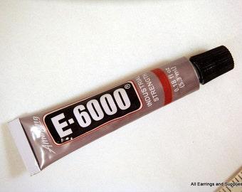 Adhesive E-6000 Glue Jewelry and Craft Adhesive .18 oz - 1 pc - MS11037-AD1