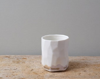 Small Porcelain Mountains Cup