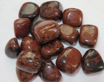Mahogany Obsidian Known as Mother of the Earth Healing Stone Healing Crystal Reiki Energy Chakra Meditation Spiritual lot b